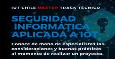 Alai Secure participa como patrocinador y ponente en el  IoT Chile Meetup organizado por Wisely