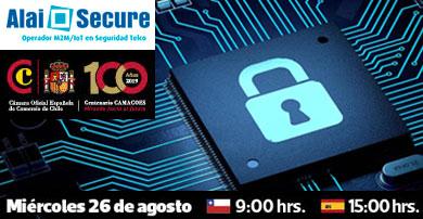 Alai Secure participa en el desayuno virtual sobre el impacto de las tecnologías M2M/IoT organizado por CAMACOES