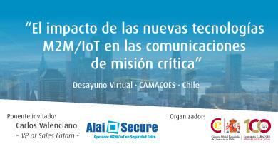 """Desayuno virtual: """"El impacto de las nuevas tecnologías M2M/IoT en las comunicaciones de misión crítica"""""""