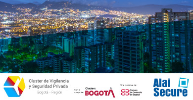 Alai Secure participa como patrocinador en la presentación oficial del Cluster de Vigilancia y Seguridad Privada de Bogotá