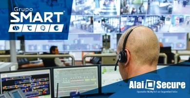 Grupo Smart apuesta por la tecnología de Alai Secure para reforzar su sistema de monitoreo de alarmas con Videovigilancia