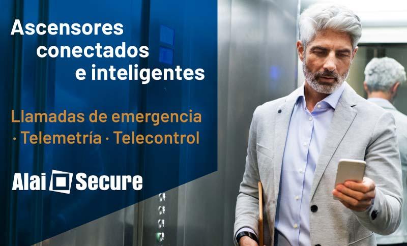 AlaiSecure - Noticia: El reto del ascensor inteligente