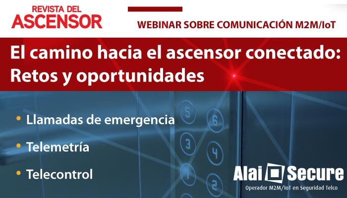 """AlaiSecure - Noticia: Crónica Webinar """"El camino hacia el ascensor conectado, retos y oportunidades"""""""